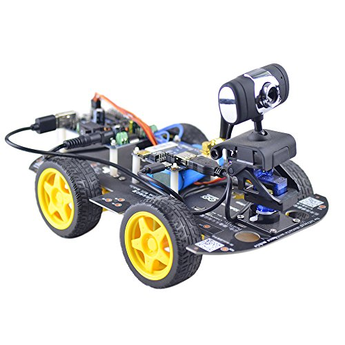 Goolsky DS Wifi FPV 4WD intelligente Robot di DIY RC auto con 1.3 MP HD fotocamera supporto PC cellulare controllo monitoraggio