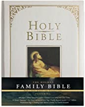 Holman KJV Family Bible, White Imitation Leather