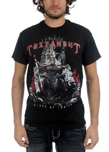 TESTAMENT - Testament - Männer Throne of Thorns T-Shirt in Schwarz, Large, Black