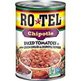 ROTEL Chipotle Diced Tomatoes with Green Chilies and Chipotle Peppers, Keto Friendly, 10 Ounce