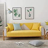 Fsogasilttlv Funda De Sofas para sofá de 3 Cojines, Funda de...