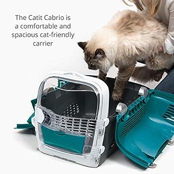 Catit Catit Cabrio Sac de Transport Turquoise