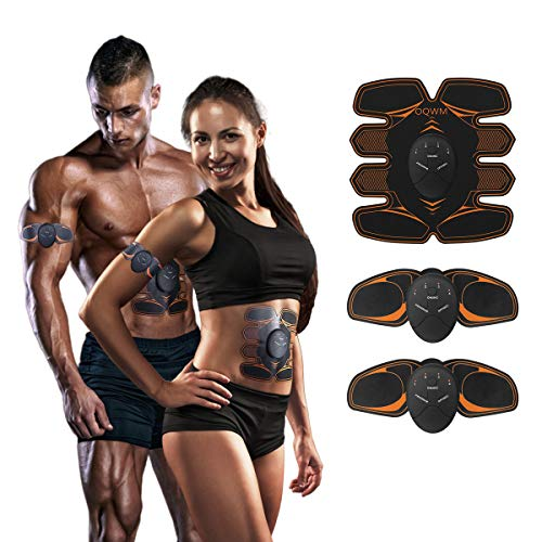 Abs Stimulator Muscle Trainer Ultimate Abs Stimulator Ab Stimulator for Men Women Abdominal Work Out Ads Power Fitness Abs Muscle Training Gear Workout Equipment Portable Stimulator Abs Belt