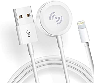 Iwatch Charger 2in1 Wireless Watch Charger Magnetic Cable for Watch Series 5 4 3 2 1