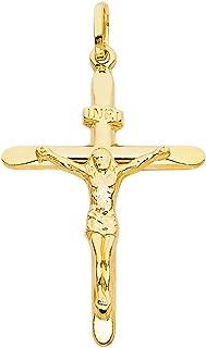 Best 14kt gold crucifix Reviews