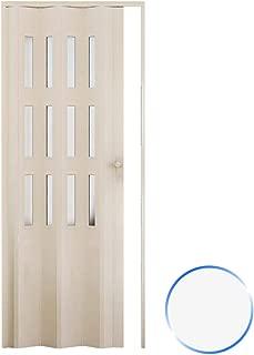 Forte Puerta Plegable de Interior de PVC 88,5x214 cm Blanco