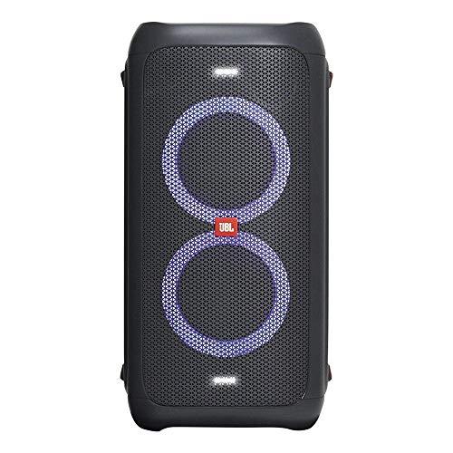 Caixa de som portátilpara festas com Bluetooth e efeitos de luzes,JBLPARTYBOX100BR