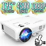 Best Hd Projectors - DR. J Professional 4500L Mini Projector Full HD Review