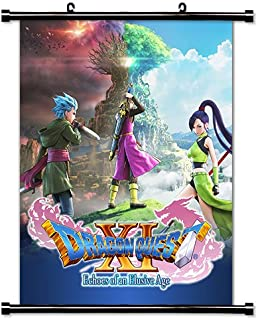 Dragon Quest XI Game Fabric Wall Scroll Poster (16x20) Inches [VG] DragonQuestXI-2