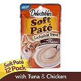 Hartz Delectables Soft Pate - Tuna & Chicken - 12 Pack
