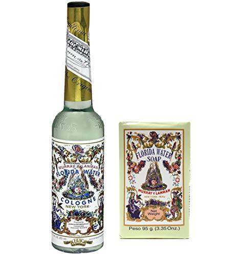 Set Florida Water Cologne + Seife Murray & Lanman Raumduft Original Made in USA (Agua de Florida + Seife, 1)