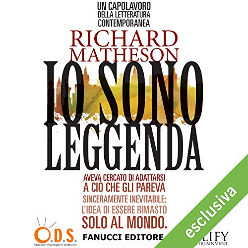 Io sono leggenda audiobook cover art