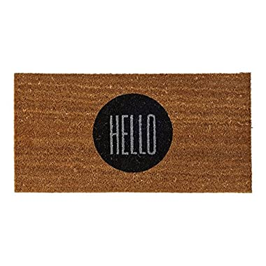 Bloomingville A76200004 Hello Coir Doormat