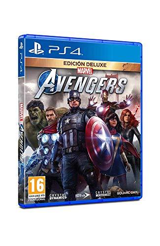 Marvel's Avengers - Playstation 4 (Edición Deluxe)