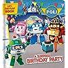 A Surprise Birthday Party: A Lift-the-flap Book (Robocar Poli)