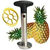Pineapple Corer, Upgraded &Thicker Blade Stainless Steel Pineapple Core Remover Tool,Kitchen Slicer and Cutter for Pineapple