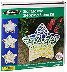 Mosaic Star Stepping Stone Kit