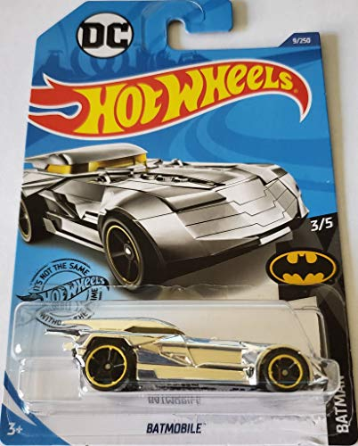 Hot Wheels 2020 Batman Batmobile, 9/250 Chrome