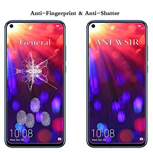 ANEWSIR Schutzfolie Displayschutzfolie für Honor View 20/Huawei Nova 4, Honor View 20/Nova 4 Schutzfolie 9H Härte, Einfache Installation, Anti-Bläschen, Anti-Kratzen. - 3