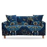 Funda de sofá Bohemia Mandala Funda seccional Funda de sofá Funda de sillón elástico elástico para Sala de Estar A14 4 plazas