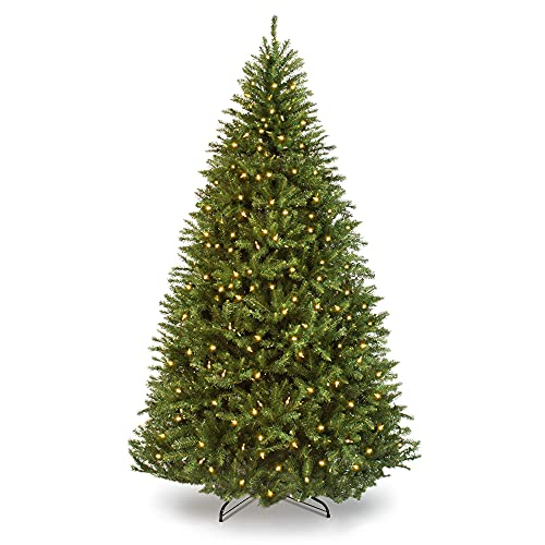 Best Choice Products 6ft Pre-Lit Hinged Douglas Full Fir Artificial Christmas Tree Holiday Decoration w/ 1,355 Branch Tips, 450 Warm White Lights, Easy Assembly, Foldable Metal Stand