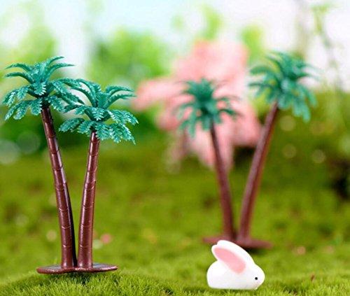 Udane 3PCS Bäume von Coco für die Dekoration Party Dekor Künstliche Aquarium