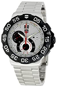 TAG Heuer Men's CAH1011BA0860 Formula One Silver Dial Watch image