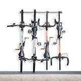 Monkey Bars Garage Bike Rack 2.0 - Stores 4 Bikes - Heavy Duty Garage...