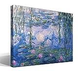 Cuadro Canvas Nenúfares X de Oscar Claude Monet