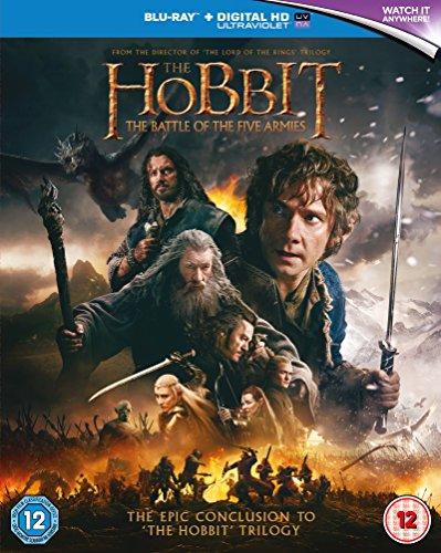 A hobbit: Az öt sereg csatája [2Blu-Ray] [Region Free] (IMPORT) (Keine deutsche Version)