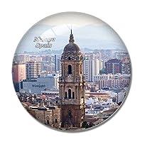 スペインマラガ大聖堂冷蔵庫マグネットホワイトボードマグネットオフィスキッチンデコレーション