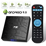 EVER EXPRESS T9 Android 9.0 TV Box 4GB DDR3 RAM 64GB ROM RK3318 Quad-Core Cortex-A53 64 Bits Bluetooth 4.0 Support 2.4/5.0GHz WiFi 4K 3D Ultra H.265