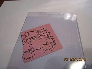 11/7 1948 chicago Bears vs Los Angeles Rams football ticket stub
