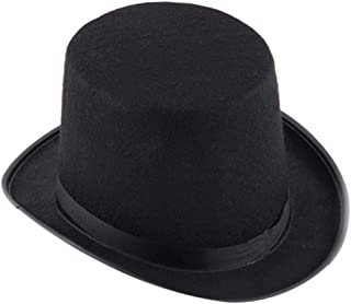 90ea68192f939 millenniums Chapeau Noir Magicien Accessoire Costume Halloween Chapeau  Magique Unisexe Chapeau de Jazz Cap Classique Traditionnel