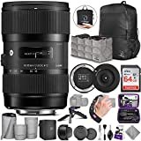 Sigma 18-35mm F1.8 Art DC HSM Lens for Canon DSLR Cameras + Sigma USB Dock with...
