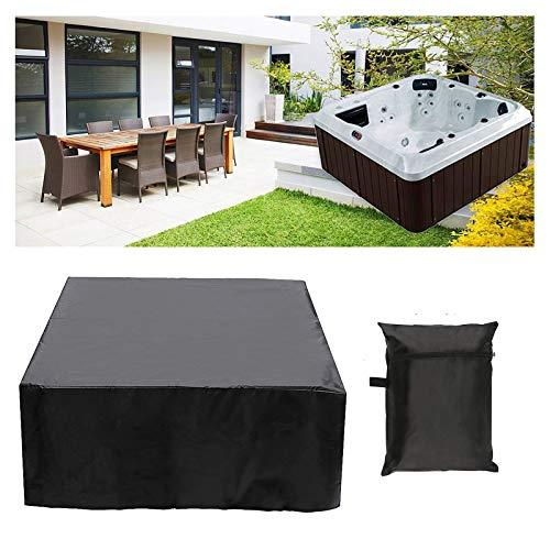 Ledph 100% UV Water Cover UV Resistente all'aperto Plaza da Esterno idromassaggio Bath Cover Jacuzzi Spa,220 * 220 * 85cm