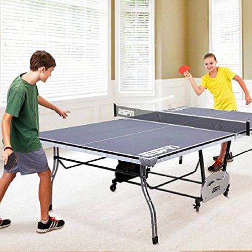 Cheap ESPN Tennis Table Ping Pong Game Room 4 Piece