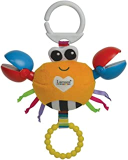 Lamaze Clackety Claude Clip On Pram and Pushchair Baby Toy LC27577 Multi Color