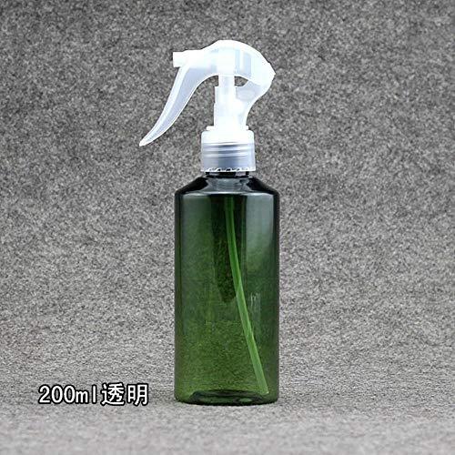 Weder Lot de 10 flacons en plastique Vert 100 ml/150 ml/200 ml, Vert, 150 ml