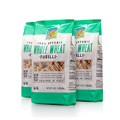 Bionaturae Organic Whole Wheat Fusilli, 6 Count
