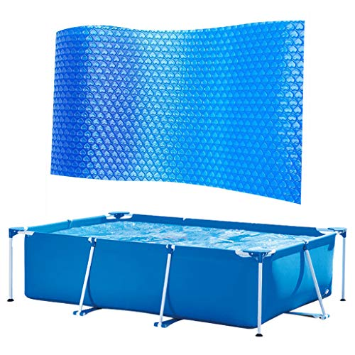 Yihaojia Women Swimsuit Rectangular Swimming Pool Cover 8.5ft X 5ft Solar Cover Frame Pool Cover Protector Rainproof Dust