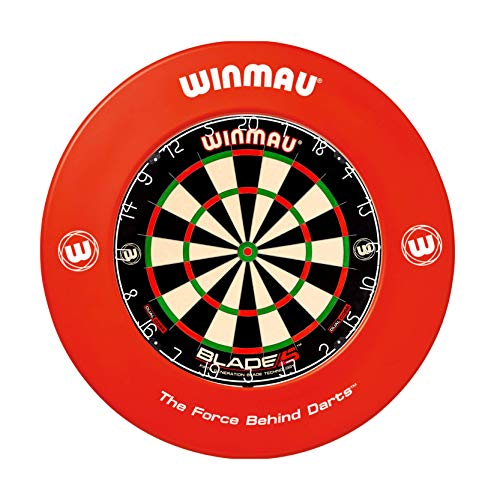 WINMAU Printed Red Dartscheibe Surround