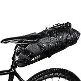 Bolsa impermeable para sillín de bicicleta, bolsa para debajo del asiento, impermeable, para bicicleta de montaña,...
