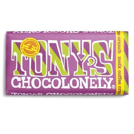 Tonys Chocolonely 'melk coffee crunch' 3 x 180g (milch Kaffee Crunch)