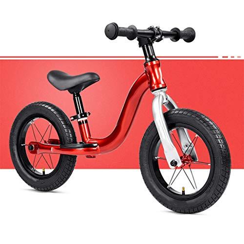 OFFA Kleinkind Balancen Fahrrad, Mädchen Junge Kinderfahrräder, Kinder Strider Fahrrad, Training Bike for 2-4Jahre Alte Kinder, 12-Zoll-Räder Anfänger Fahrer Training for Baby/No Pedal-Roller-Fahrrad