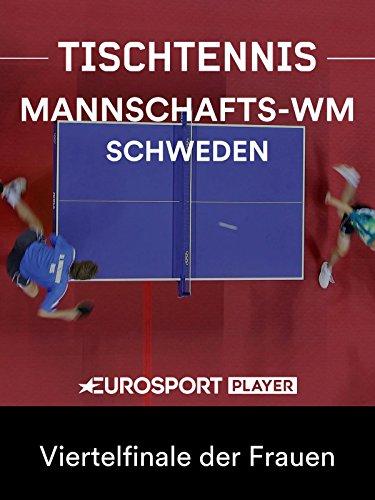Tischtennis: Mannschafts-WM in Halmstad (SWE) - Viertelfinale der Frauen