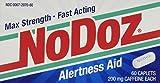 No-Doz Max Strength Fast Acting Alertness Aid, 60 Caplets