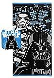 Jay Franco Star Wars Classic Vader Bath/Wash Cotton Towel Set, Darth Stormtrooper Blue