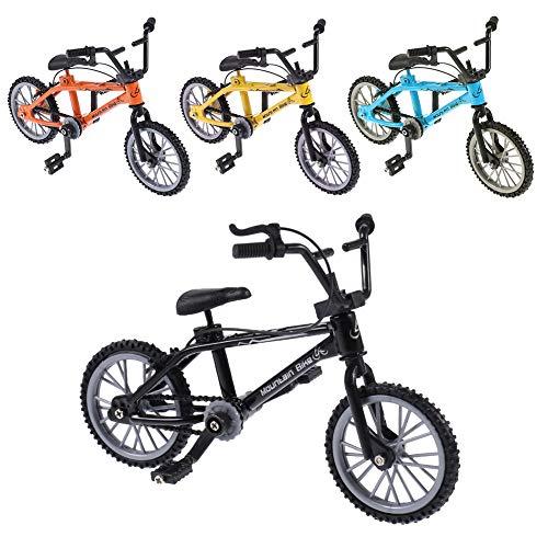 ruggito 4 Pcs Finger Bikes BMX,Finger Mountain Bike,Mini Model Ornaments