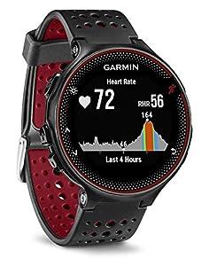 El Forerunner 235 es un reloj con pulsómetro en la muñeca El seguimiento en vivo de la actividad hace un recuento diario de los pasos, la distancia, las calorías y el sueño Tiene alertas de inactividad que le avisan cuando ha estado fuera durante dem...